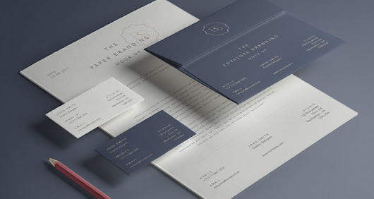 Haitham said google basic stationery branding vol 13 psd mock up templates pixeden reheart Image collections