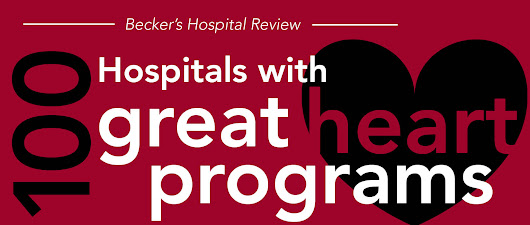 100 Hospitals with Great Heart Programs 2015-16