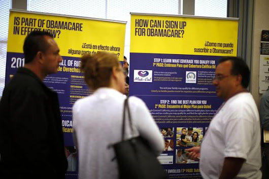Obamacare 'accomplishing goal,' U.S. uninsured drops to six-year low: poll