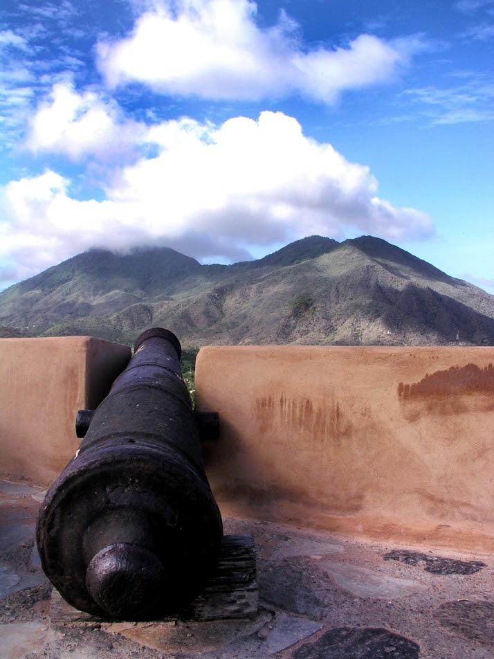 Castle in Venezuela. Photo courtesy of David Mark, Pixabay