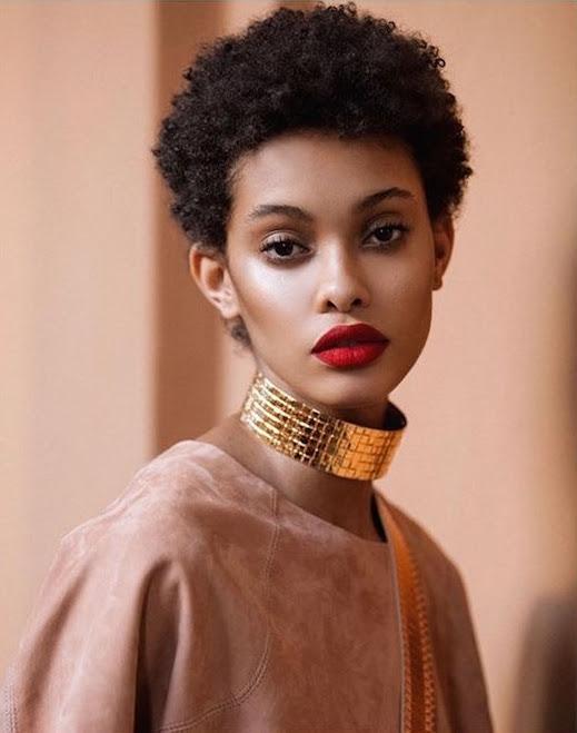 Model Coiffure Femme Noire Cheveux Naturels Modele De Robe