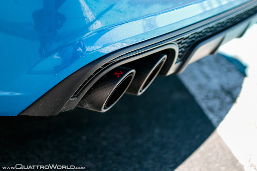 Audi Genuine Accessories High-performance S6/S7 Titanium Exhaust System by Akrapovič - QuattroWorld