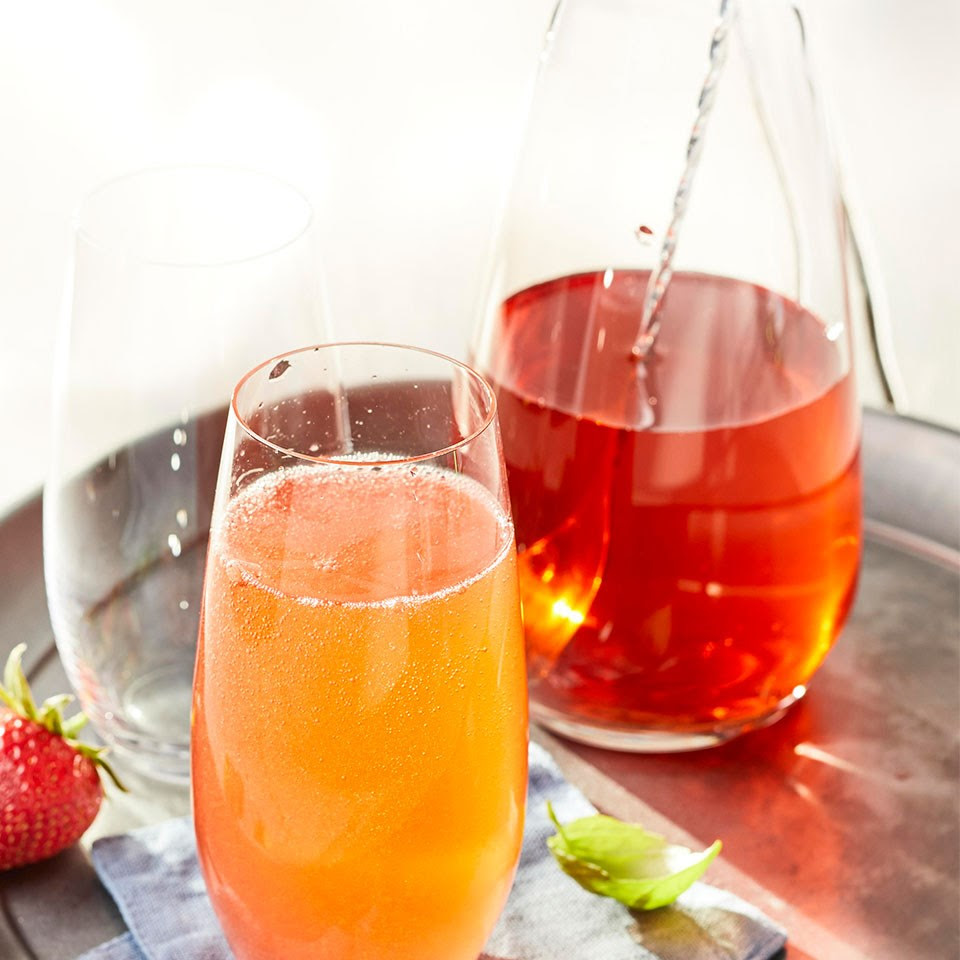 Strawberry Shrub Mocktail