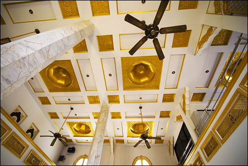 Ceiling of Sikh Temple, Phuket