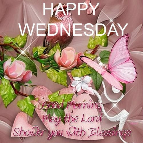 Happy Wednesday Good Morning May The Lord Shower You With