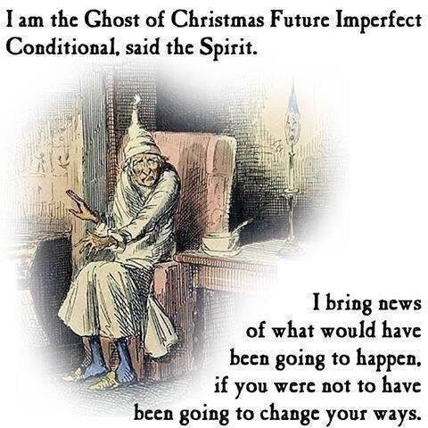 The Ghost of Christmas Future Imperfect