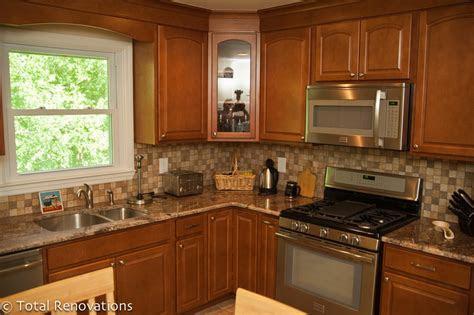 bathroom  kitchen remodeling   bi level home