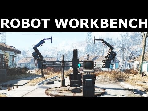 Strange 45 Tutorial Fallout 4 How Build Robot Workbench With Video Gmtry Best Dining Table And Chair Ideas Images Gmtryco