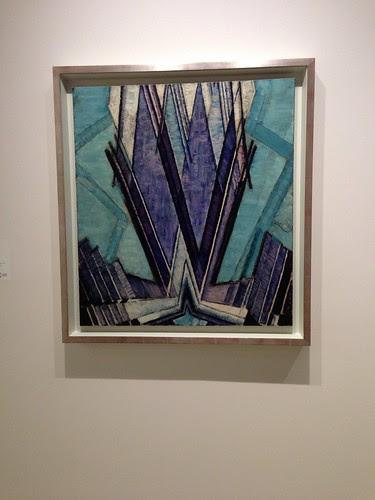 """Frantisek Kupka, """"Form of Blue"""" (1925), Guggenheim Museum"""