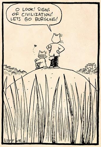 Laugh-Out-Loud Cats #2325 by Ape Lad
