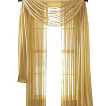 Moshells Home Decor 63 Inches Sheer Curtain Panel In Curtains From
