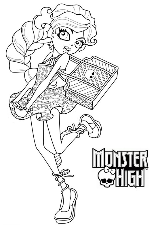 154 Dessins De Coloriage Monster High à Imprimer Sur Laguerchecom
