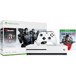 Xbox One S 1TB Gears of War 5 Bundle, White