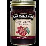 Dillman Farm 216 16 oz Cherry Raspberry Preserves - Pack of 6