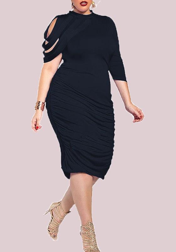 Plus prom bodycon size dresses long long