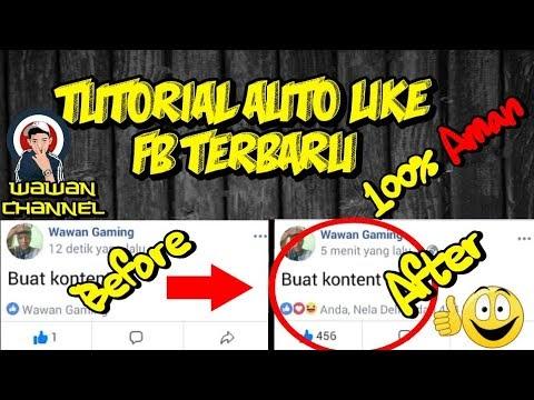 TUTORIAL AUTOLIKE FB 2018 (100% aman) - Part1