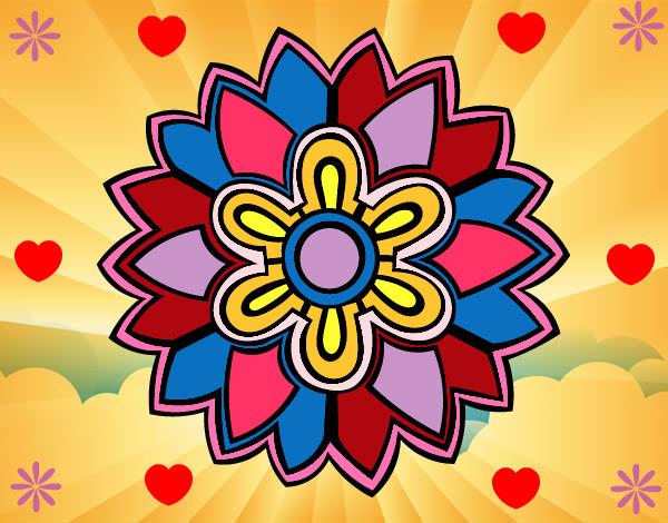 Dibujo De Hermosa Mandala Pintado Por Samantitha En Dibujos Net El