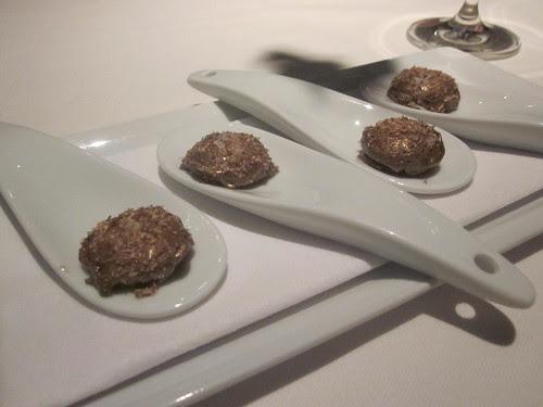 Next/El Bulli - Chicago - February 2012 - Golden Egg