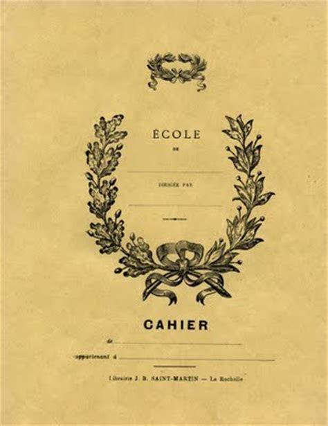 Vintage Printable Ephemera   French Journal   The Graphics