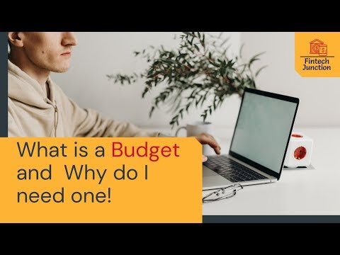 what is a budget and why do i need one
