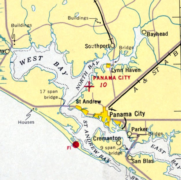 Panama City Airport Map