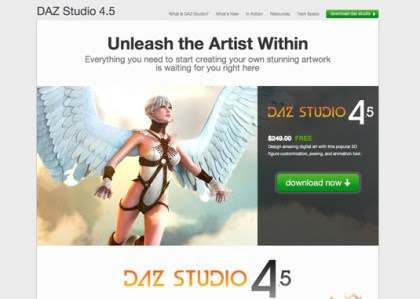 daz studio example