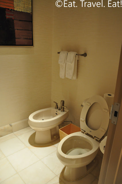 Bidet and Toilet Ladie's Bathroom Penthouse Suite