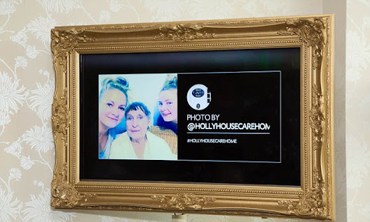 EventsTag screens let families stream to relatives in care homes