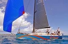 J/122 El Ocaso winning St Maarten Heinken Regatta