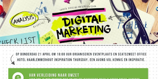 Maak kennis met Seats2meet en Eventplaats op Inspiration Thursday - Eventplaats Blog