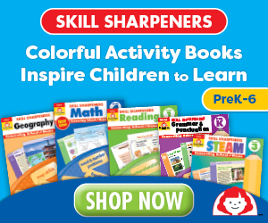 Skill Sharpeners for Grades PreK, K, 1, 2, 3, 4, 5, 6