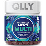 Olly Men's Multi, The Perfect, Gummies, Blackberry Blitz - 90 gummies