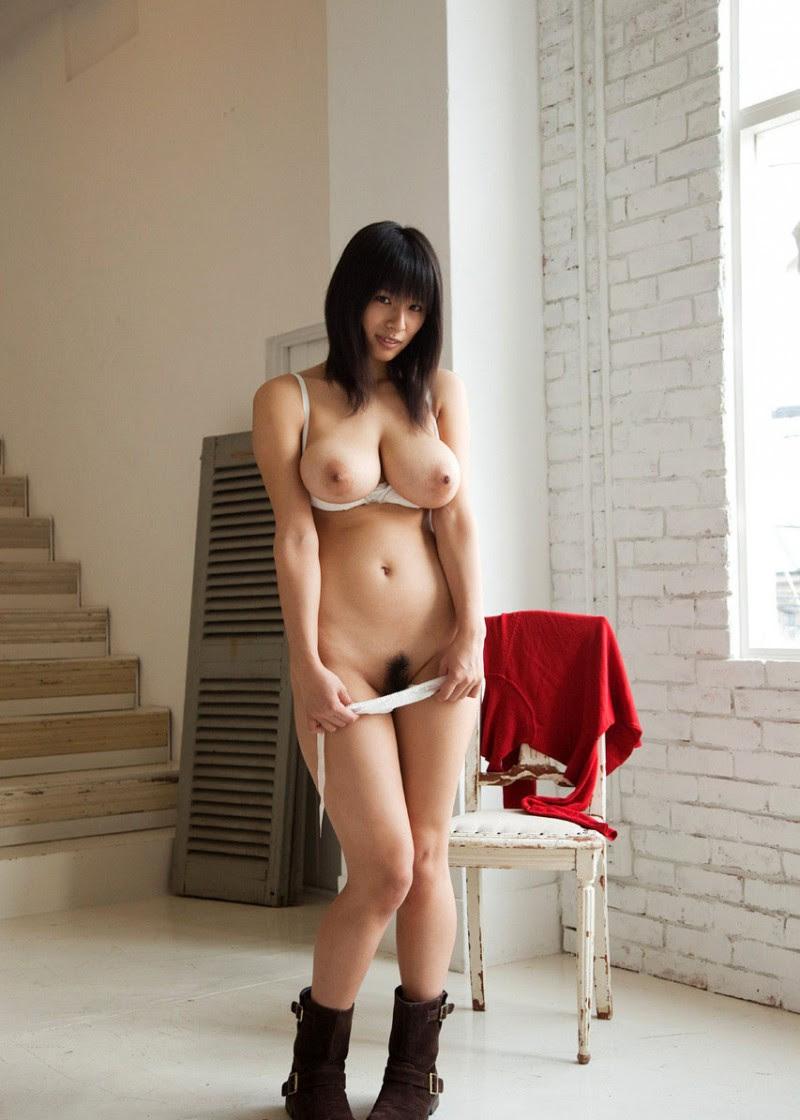 hana-haruna-red-jumper-busty-asian-nude-11