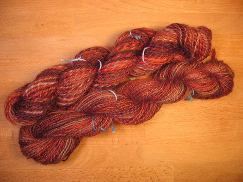 STR Wensleydale worsted and fingering