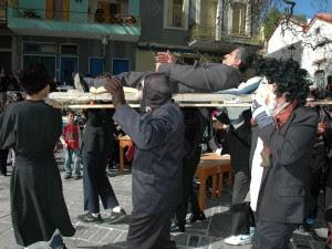 Η κηδεία του Μακαρονά στα Καρδάμυλα - Αποκριάτικα Δρώμενα