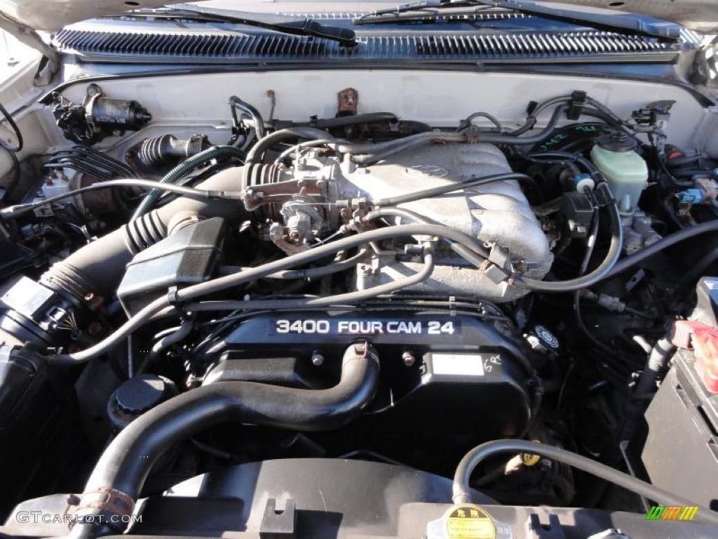 1997 Toyota 4Runner SR5 4x4 3.4 Liter DOHC 24-Valve V6 ...
