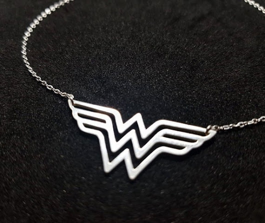 Collar Wonder Woman simbolo wonder woman superwoman collar | Etsy