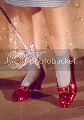 scarpette rosse Dorothy Wizard of Oz Mago di Oz