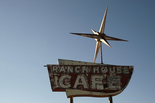 ranch house cafe sign