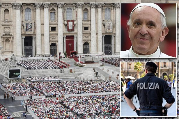 Police Raid Gay Orgy At The Pope's Key Advisors Vatican Apartment