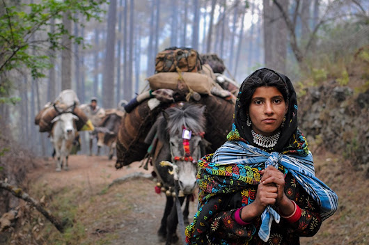 Behind the scenes of Himalaya Bound: Images of nomads in north India