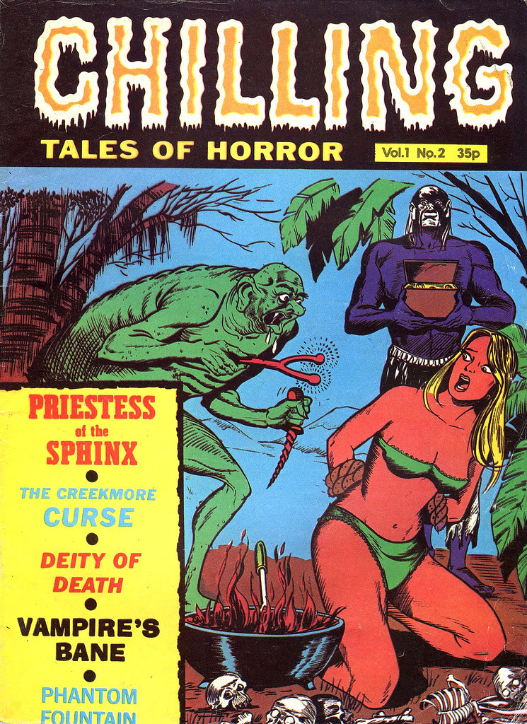 Chilling Tales Of Horror - Volume 1, Issue 2 (Stanley Publications)