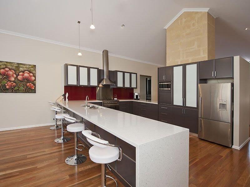 Cream French Provincial Small Kitchen L Shape Home Decor And Interior Design
