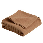 Vellux Cotton Woven Blanket - F/Q Tan