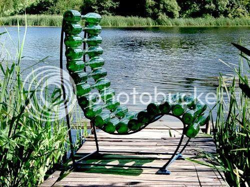 Beer Bottles Chair