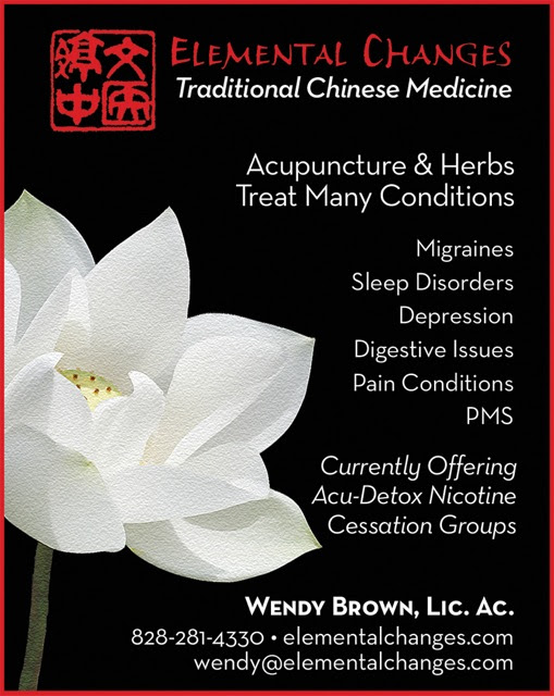 ELEMENTAL CHANGES | Asheville Acupuncture and Traditional Chinese Medicine