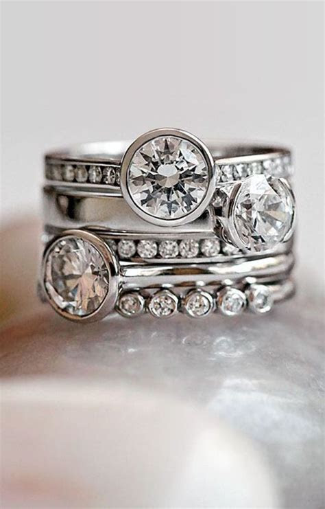 #Trending: Stackable Engagement Rings!   WedMeGood