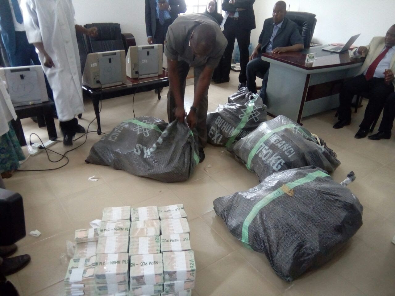 Image result for N49m Discovered At Kaduna Airport – EFCC