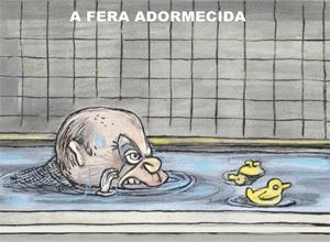 Charge do cartunista Angeli, publicada na página A2 da edição desta quarta-feira da Folha de S.Paulo; veja outros quadrinhos