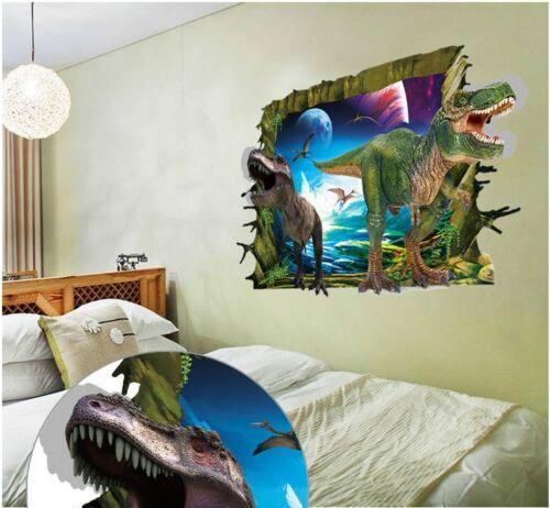 Kindermobel Wohnen Wandtattoo Wandbild Wandsticker Kinderzimmer Dinosaurier Sticker 3d Neu 42 Mobel Wohnen Elin Pens Ac Id